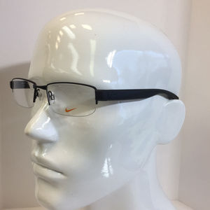 af4e09a5ee2 Nike Accessories - Nike 8097 001 black metal Semi Rimless Eyeglasses